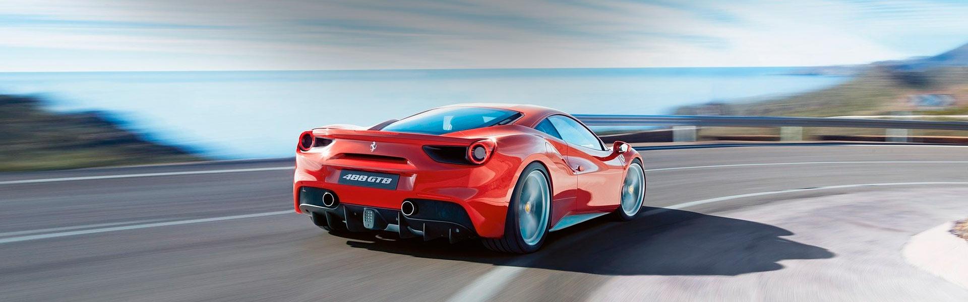 Покраска капота Ferrari